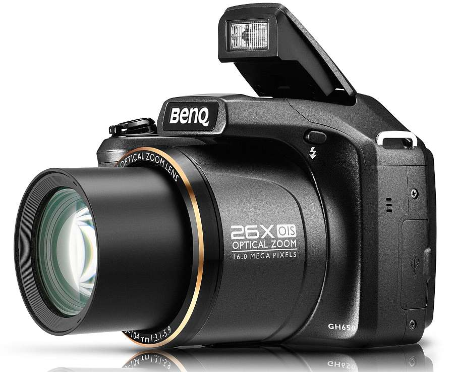 BenQ GH650 and GH210 digital camera launched