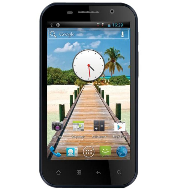 Videocon A51 Dual Core smartphone with Android Ice Cream Sandwich Operating System