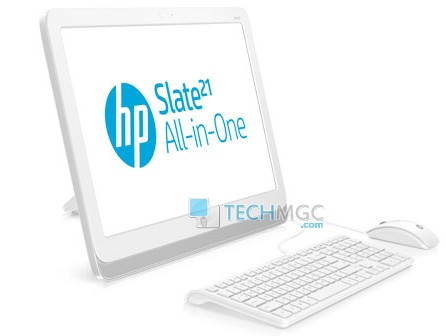 HP Slate 21 all-in-one pc tablet