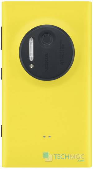 Nokia Lumia Yellow 1020 phone Back Cover