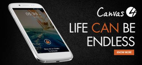 Micromax 4 Life can be endless