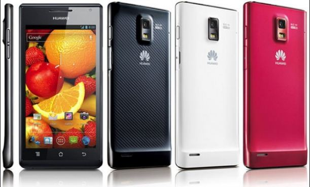 Huawei Ascend P1 the slimmest phone