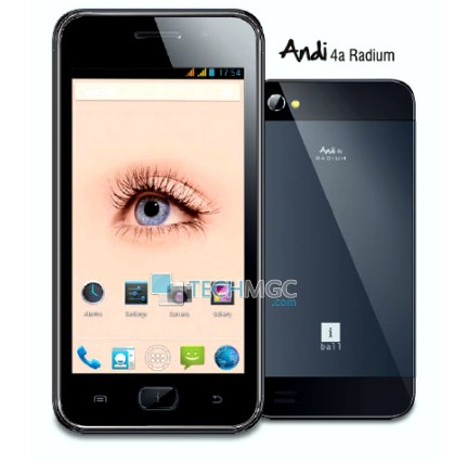 iBall Andi 4a radium smartphone