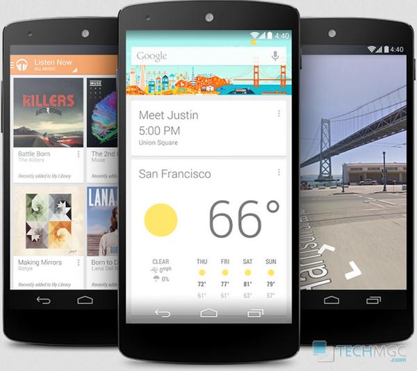 Nexus 5 has killer specifications.