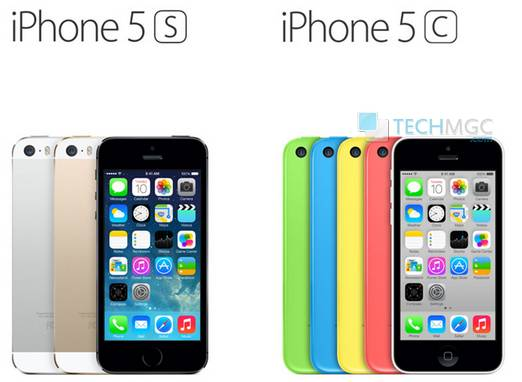 Reliance communication is providing iPhone 5S and 5C for Rs. 2,999, Rs. 2,599 monthly contract with unlimited calls and 3G data.