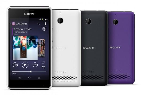 Sony Xperia E1 - Mid range phone.