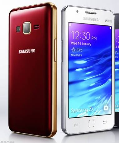 Samsung Z1 with Tizen OS