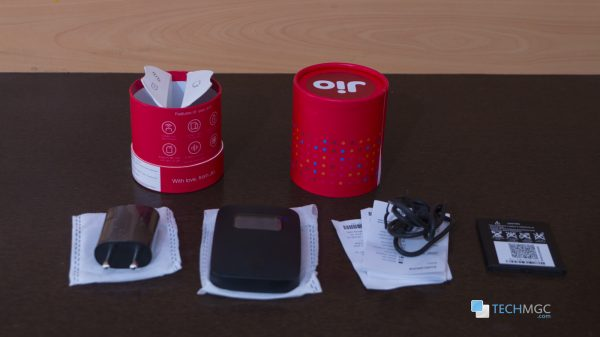 All content inside Rjio MIFI device.