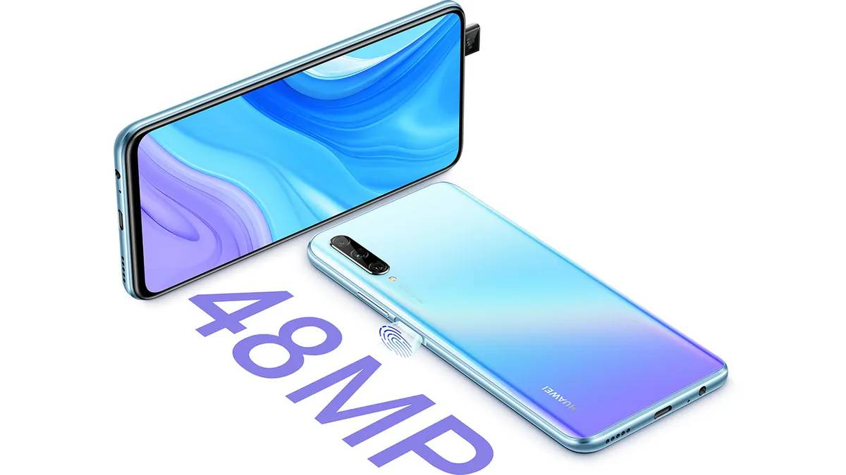 Huawei Y9S with pop-up selfie camera