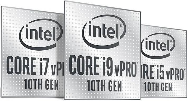 Intel vPro 10th Gen processors